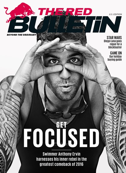 The Red Bulletin Cover - 12/1/2016