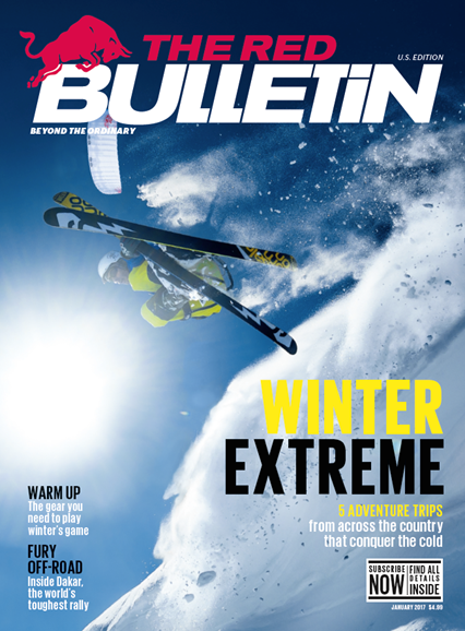 The Red Bulletin Cover - 1/1/2017