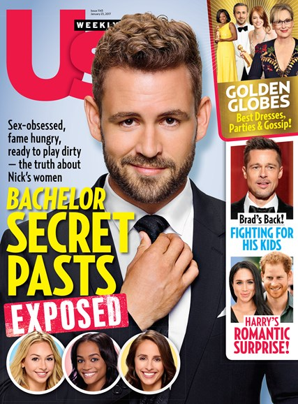 Us Weekly Cover - 1/23/2017
