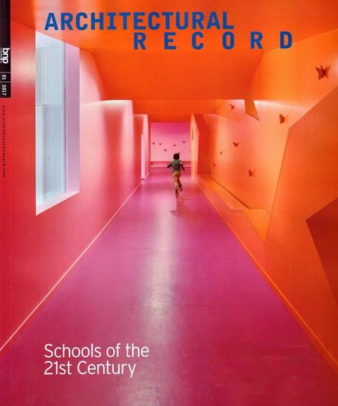 Architectural Record Cover - 1/1/2017