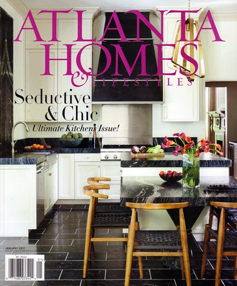 Atlanta Homes & Lifestyles Cover - 1/1/2017