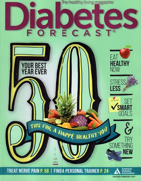 Diabetes Forecast Cover - 1/1/2017