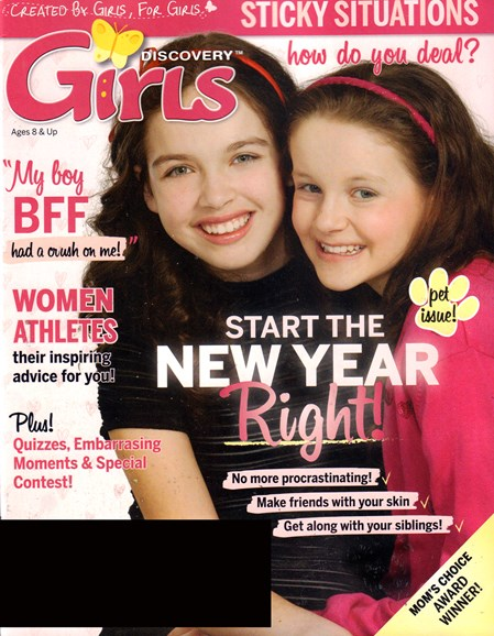 Discovery Girls Cover - 1/1/2017