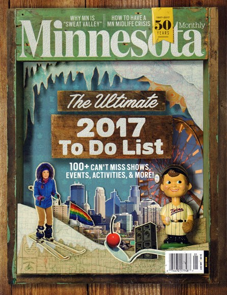 Minnesota Monthly Cover - 1/1/2017