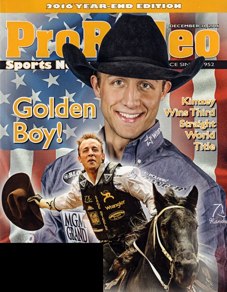 Pro Rodeo Sports News Cover - 12/31/2016