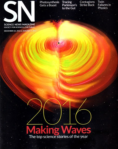 Science News Cover - 12/24/2016