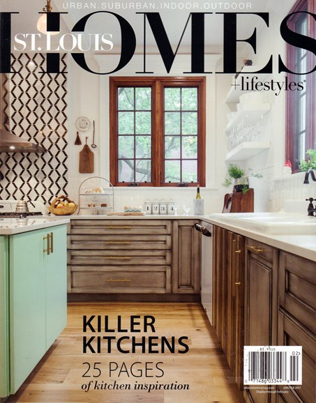 St. Louis Homes & Lifestyles Cover - 1/1/2017