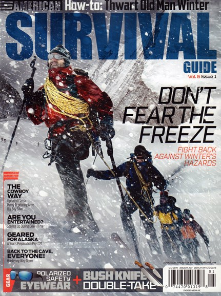 American Survival Guide Cover - 1/1/2017
