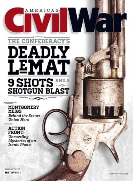 America's Civil War Cover - 1/1/2017