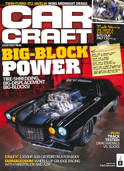 Car Craft Cover - 1/1/2017