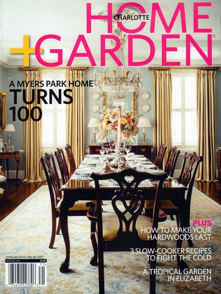 Charlotte Home & Garden Cover - 12/1/2016
