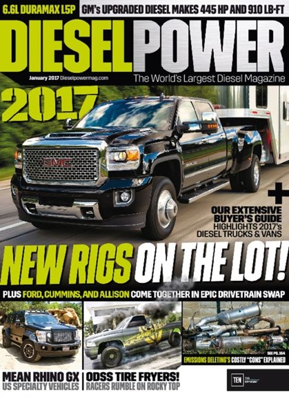 Diesel Power Cover - 1/1/2017