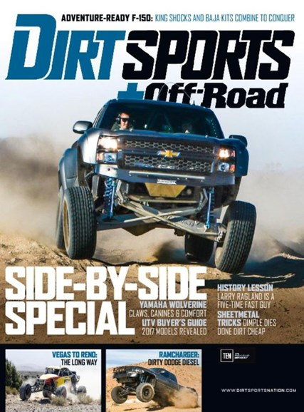 Dirt Sports & Off-Road Cover - 1/1/2017