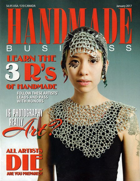 Handmade Business Cover - 1/1/2017