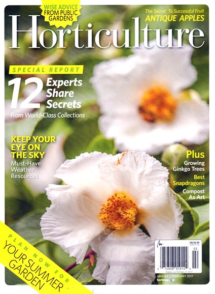 Horticulture Cover - 1/1/2017