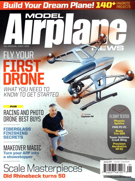 Model Airplane News Cover - 1/1/2017
