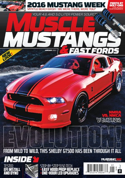 Muscle Mustangs & Fast Fords Cover - 1/1/2017