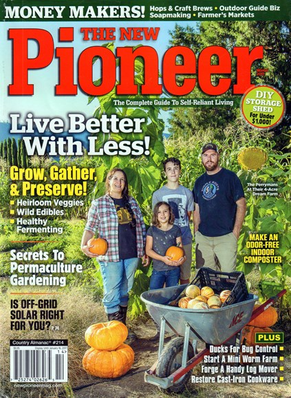 The New Pioneer Cover - 1/1/2017