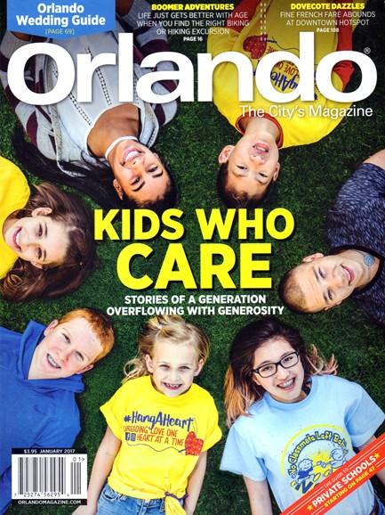 Orlando Magazine Cover - 1/1/2017