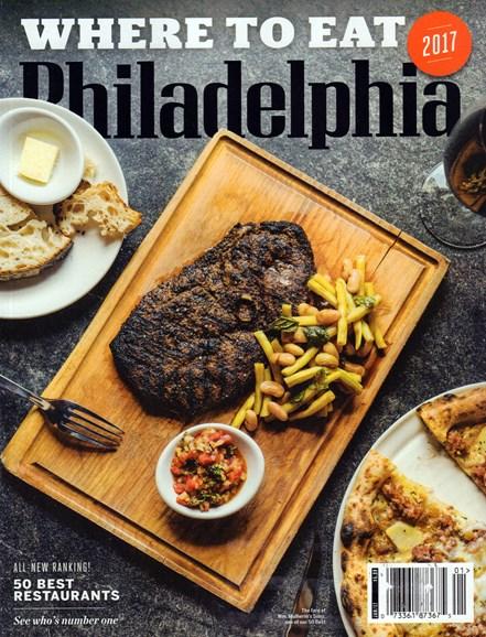 Philadelphia Magazine Cover - 1/1/2017