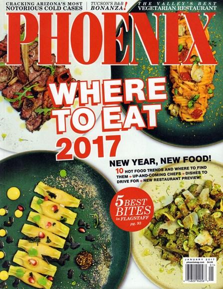 Phoenix Magazine Cover - 1/1/2017