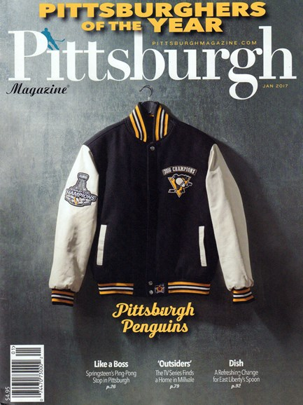 Pittsburgh Magazine Cover - 1/1/2017