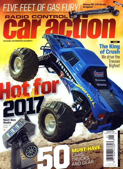 Radio Control Car Action Cover - 1/1/2017