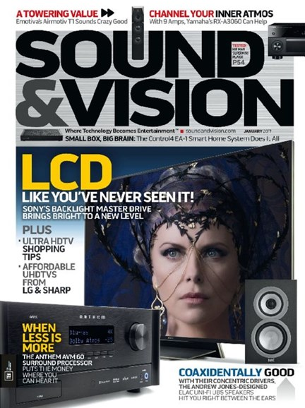 Sound & Vision Cover - 1/1/2017