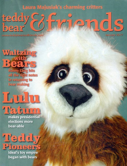 Teddy Bear Times & Friends Cover - 1/1/2017