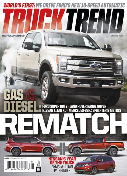 Truck Trend Cover - 1/1/2017