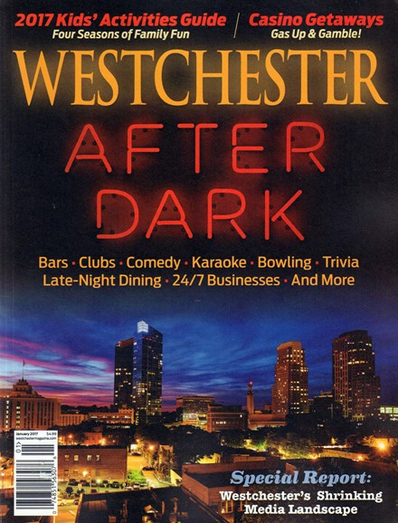 Westchester Magazine Cover - 1/1/2017