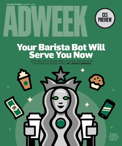 Adweek Cover - 1/2/2017