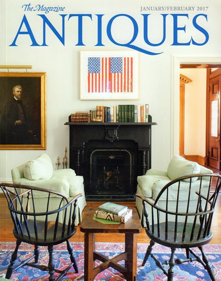 The Magazine Antiques Cover - 1/1/2017