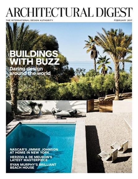Architectural Digest Cover - 2/1/2017