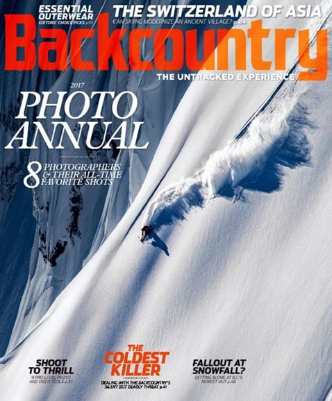 Backcountry Cover - 12/1/2016