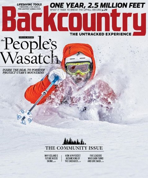 Backcountry Cover - 1/1/2017