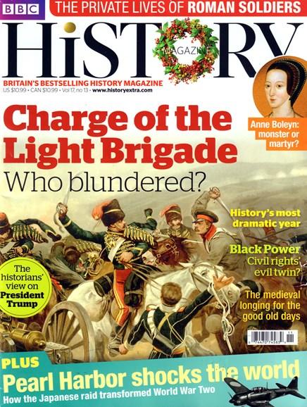 BBC History Cover - 12/25/2016