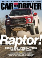 Car And Driver Magazine 2/1/2017