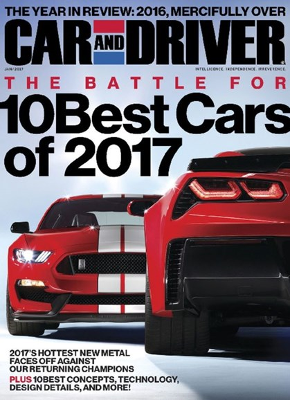 Car And Driver Cover - 1/1/2017