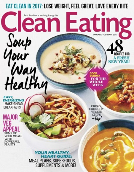Clean Eating Cover - 1/1/2017
