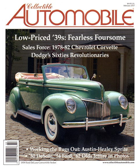 Collectible Automobile Cover - 2/1/2017