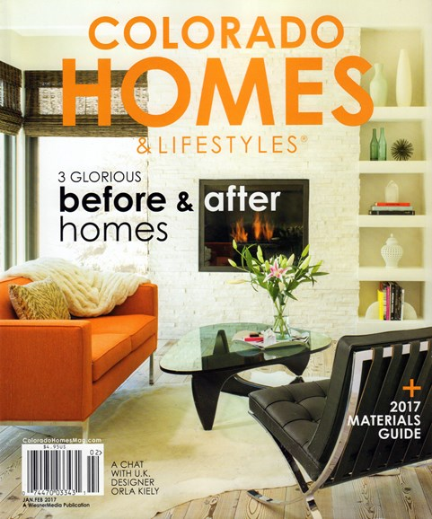 Colorado Homes & Lifestyles Cover - 1/1/2017