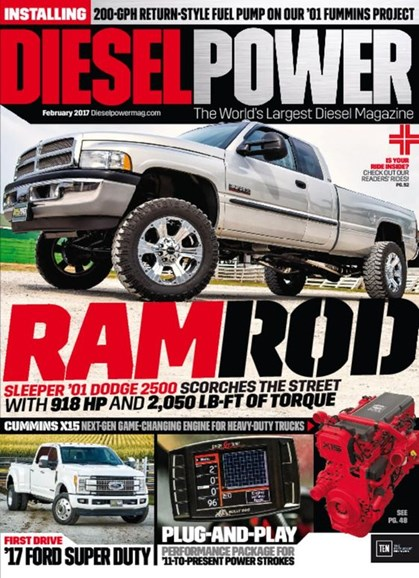 Diesel Power Cover - 2/1/2017