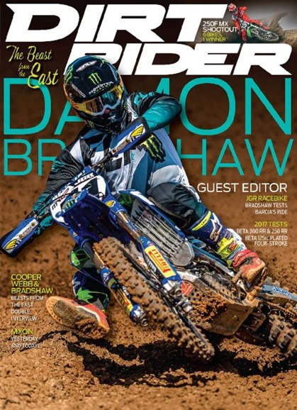 Dirt Rider Cover - 12/1/2016