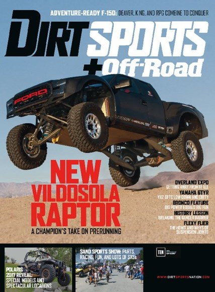 Dirt Sports & Off-Road Cover - 2/1/2017