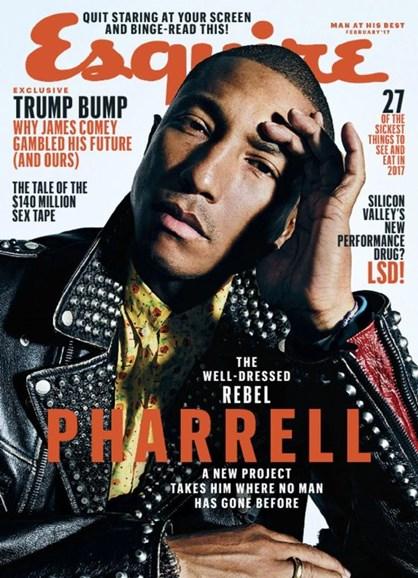 Esquire Cover - 2/1/2017