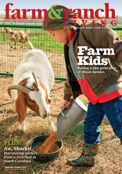 Farm & Ranch Living Cover - 2/1/2017