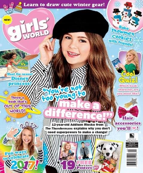 Girls' World Cover - 2/1/2017
