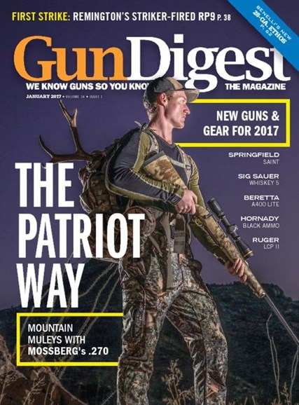Gun Digest Cover - 1/1/2017