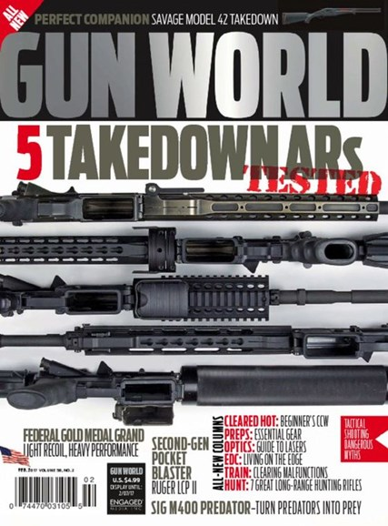 Gun World Cover - 2/1/2017